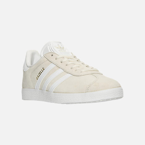 Three Quarter view of Women's adidas Gazelle Casual Shoes