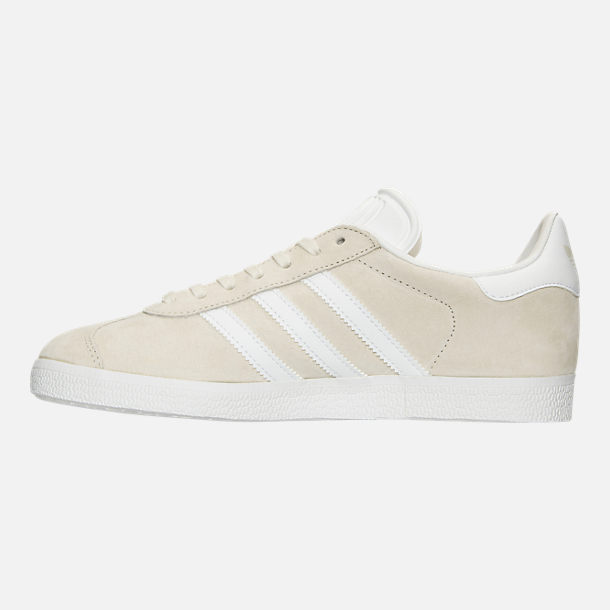 Left view of Women's adidas Gazelle Casual Shoes