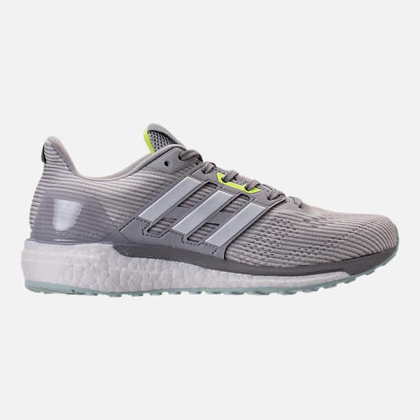 Right view of Women's adidas Supernova Boost Running Shoes in Light Solid Grey/White