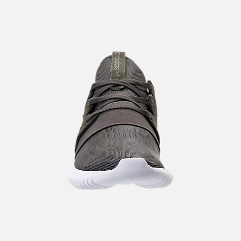Front view of Women's adidas Originals Tubular Viral Casual Shoes in Tactile Blue/White