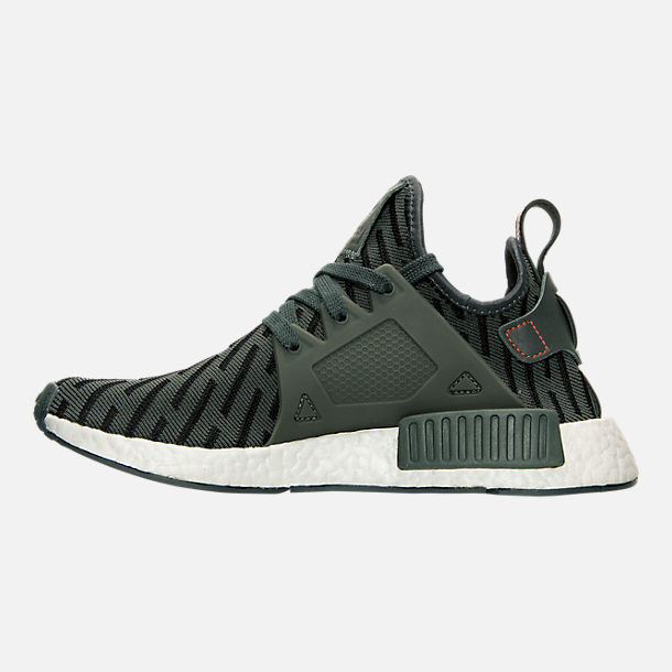 Left view of Women's adidas NMD XR1 Casual Shoes in Ivy