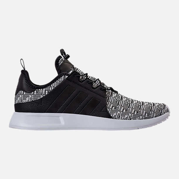 Right view of Men's adidas Originals X_PLR Casual Shoes in Black/Black/White