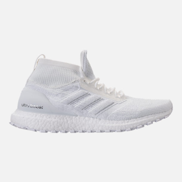 Right view of Men's adidas UltraBOOST ATR Mid Running Shoes in Nondye/Nondye