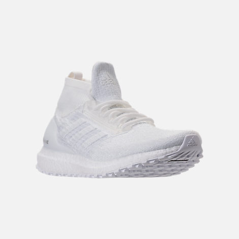 Three Quarter view of Men's adidas UltraBOOST ATR Mid Running Shoes in Nondye/Nondye