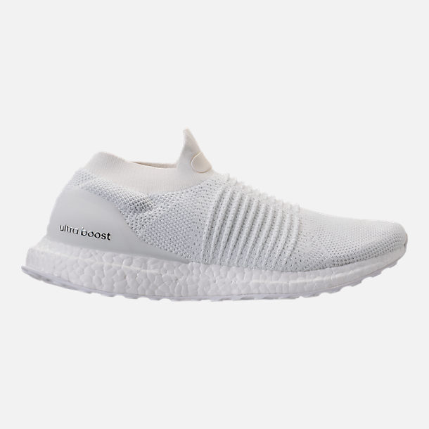 Right view of Men's adidas UltraBOOST Laceless Running Shoes in Nondye/Nondye