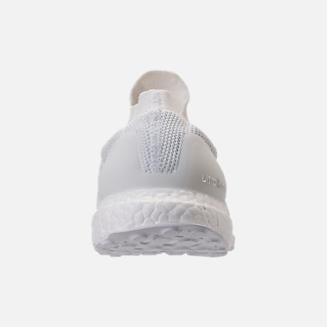 Back view of Men's adidas UltraBOOST Laceless Running Shoes in Nondye/Nondye