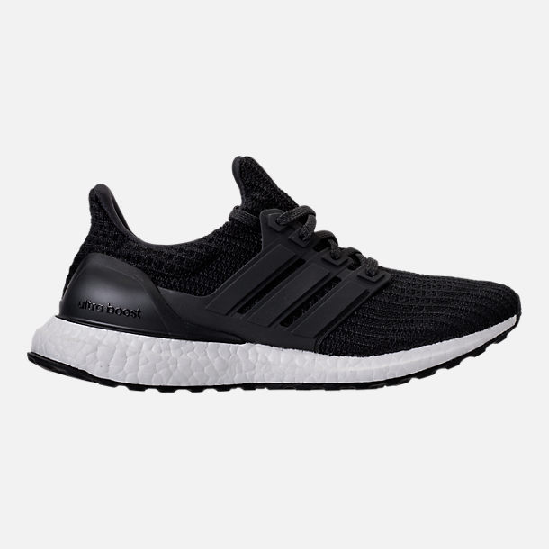 Right view of Women s adidas UltraBOOST 4.0 Running Shoes in Core Black 961ad2a0799e