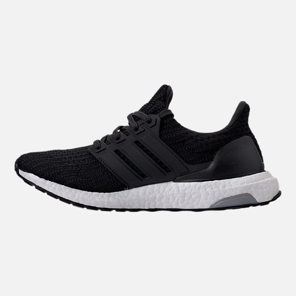 Left view of Women's adidas UltraBOOST Running Shoes in Core Black