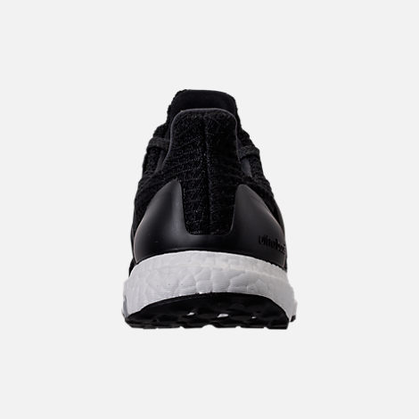 Back view of Women's adidas UltraBOOST Running Shoes in Core Black