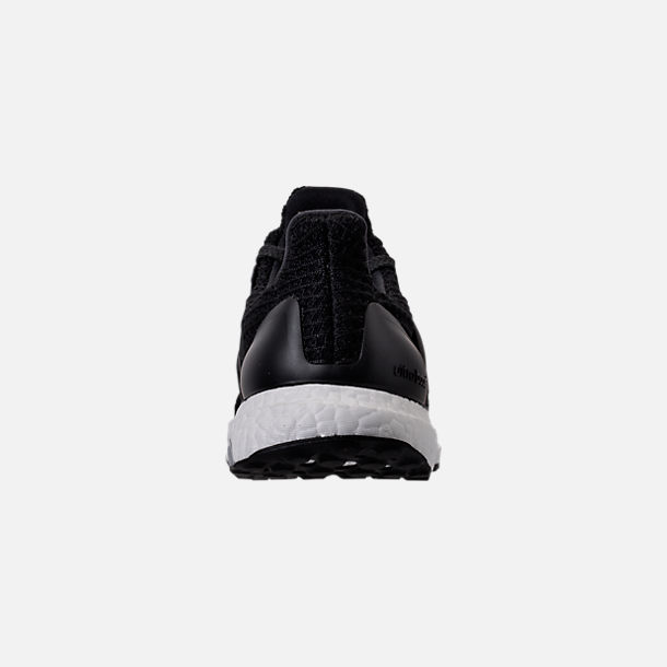 Back view of Women's adidas UltraBOOST 4.0 Running Shoes in Core Black