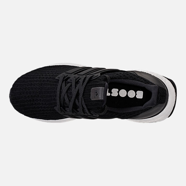 Top view of Women's adidas UltraBOOST Running Shoes in Core Black
