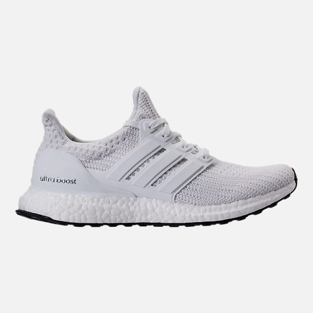 2fed0fbd0dede Right view of Women's adidas UltraBOOST Running Shoes in White
