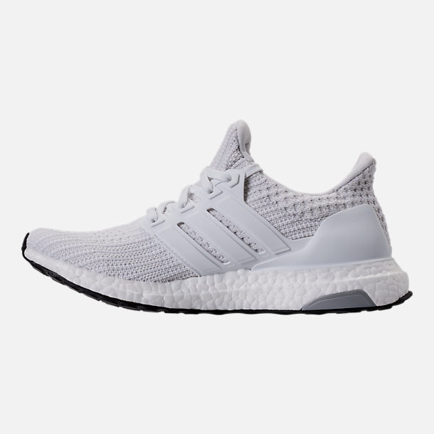 Left view of Women's adidas UltraBOOST Running Shoes in White