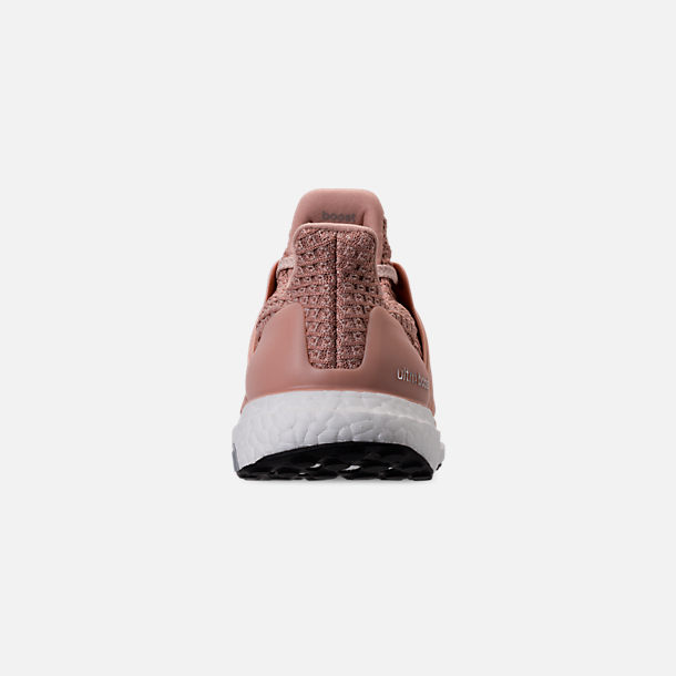 Back view of Women's adidas UltraBOOST 4.0 Running Shoes in Ash Pearl