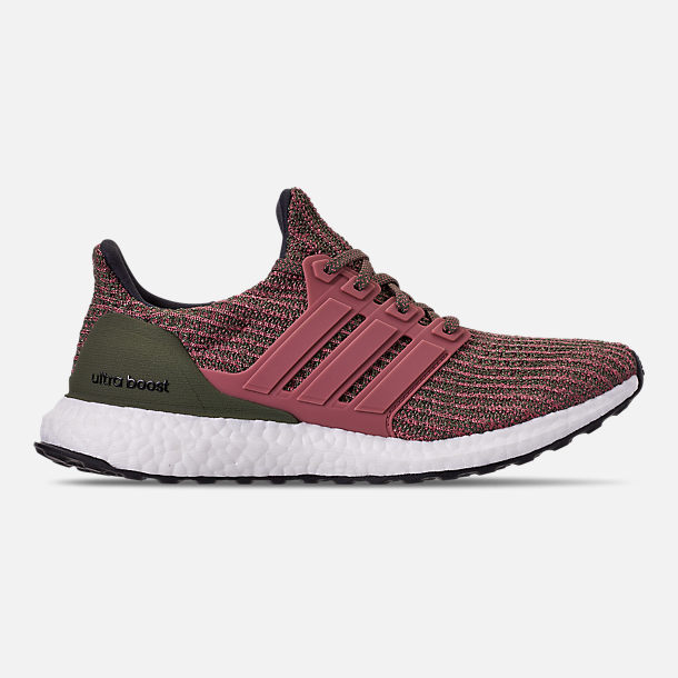 Right view of Women's adidas UltraBOOST 4.0 Running Shoes in Trace Maroon/Trace Maroon/Base