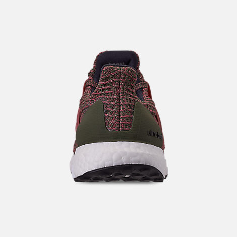 Back view of Women's adidas UltraBOOST 4.0 Running Shoes in Trace Maroon/Trace Maroon/Base