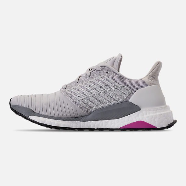 Left view of Women's adidas SolarBOOST Running Shoes