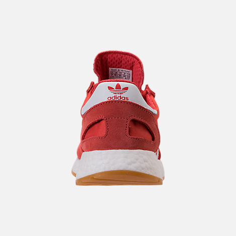 Back view of Women's adidas I-5923 Runner Casual Shoes in Trace Scarlet/White/Gum