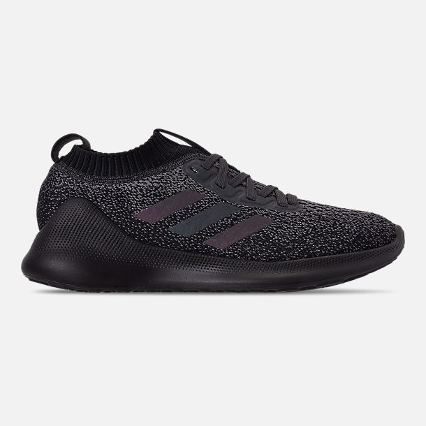 Right view of Women's adidas PureBounce+ Running Shoes in Carbon/Core Black