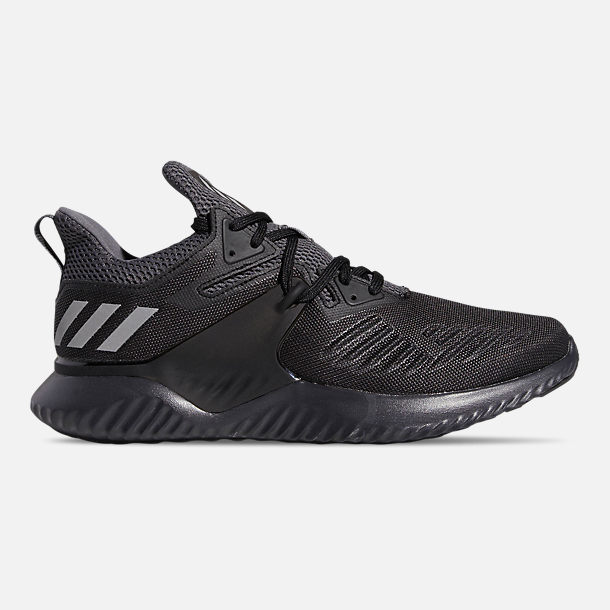 Right view of Men's adidas Alphabounce Beyond 2 Running Shoes in Core Black/Silver Metallic/Carbon