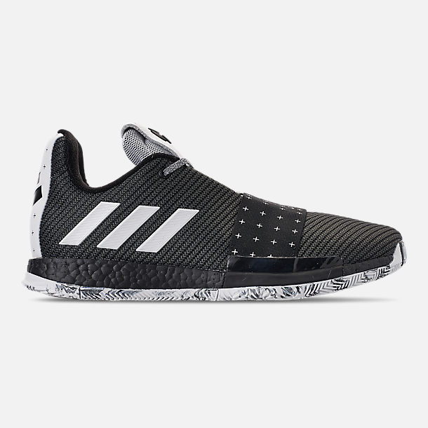 2cb5e3b92adc 2 ls mvp 2018 sneaker release date f385c bf57d  order right view of mens adidas  harden vol.3 basketball shoes in core black footwear