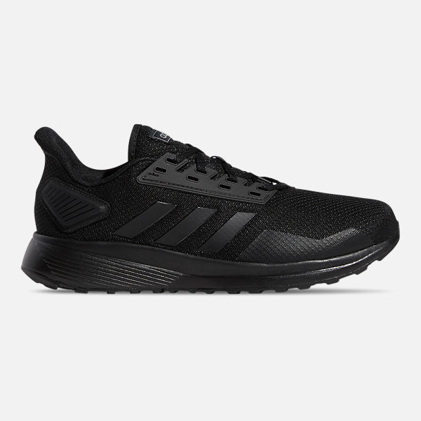 862263ff570 Right view of Men s adidas Duramo 9 Wide Width Running Shoes in Black