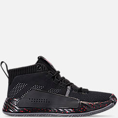 Boys' Big Kids' adidas Dame 5 Basketball Shoes