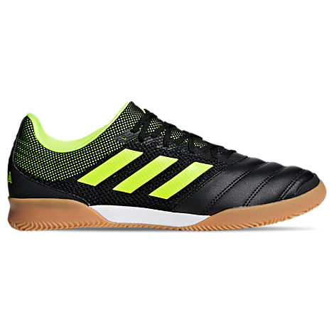 Adidas Mens Copa 19.3 Indoor Sala Soccer Shoes, Yellow/Black