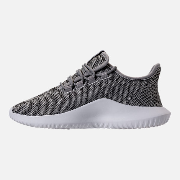 Left view of Women's adidas Originals Tubular Shadow Casual Shoes in Solid Grey/Vintage/Vivid White