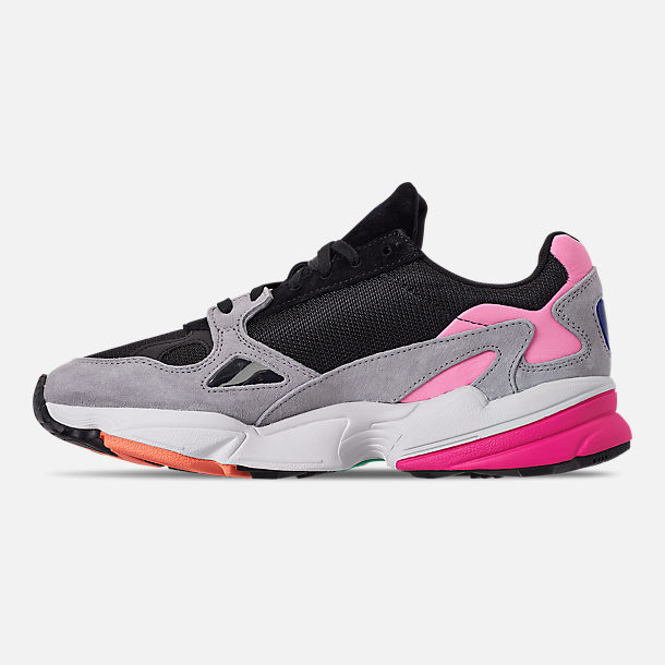 Left view of Women's adidas Originals Falcon Casual Shoes