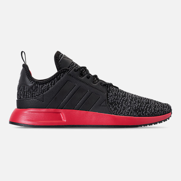 premium selection 1375d 37873 Right view of Men s adidas Originals X PLR Casual Shoes in Black Red