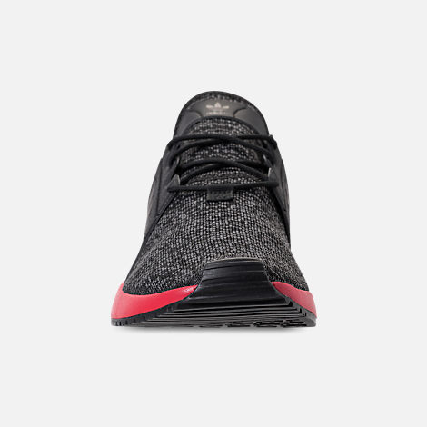 best service 32c90 0e3bb Front view of Men s adidas Originals X PLR Casual Shoes in Black Red