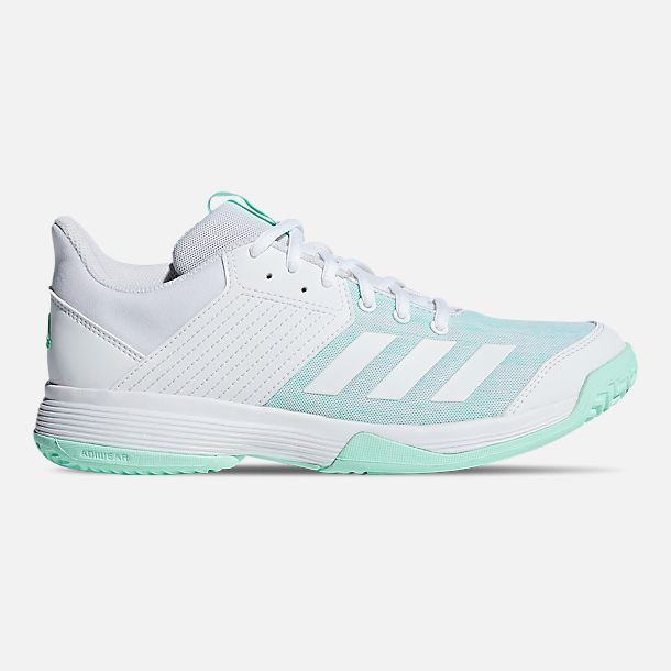 wholesale dealer b130e d9a7a Right view of Womens adidas Ligra 6 Volleyball Shoes in Cloud WhiteCloud  White