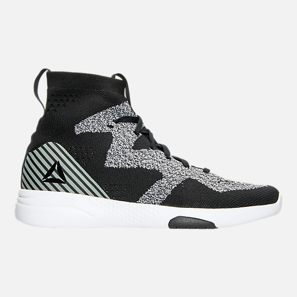 Right view of Women's Reebok Hayasu Casual Shoes in Black/Fault Grey/White