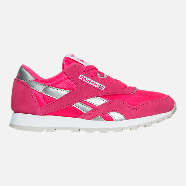 1e50b8615d8 Right view of Girls  Little Kids  Reebok Classic Nylon Casual Shoes