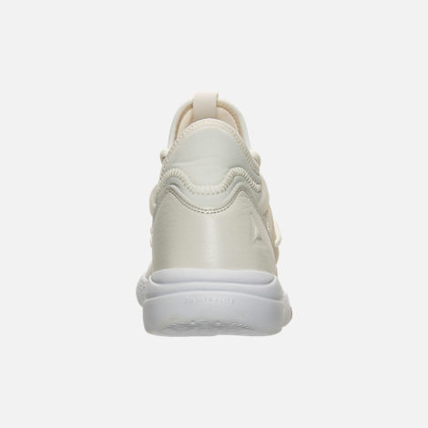Back view of Women's Reebok Hayasu Casual Shoes in Chalk/White/Gum/Amber Gold