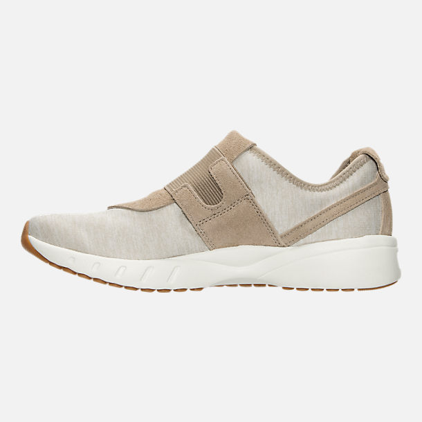 Left view of Women's Reebok ERS Deluxe Slip Casual Shoes