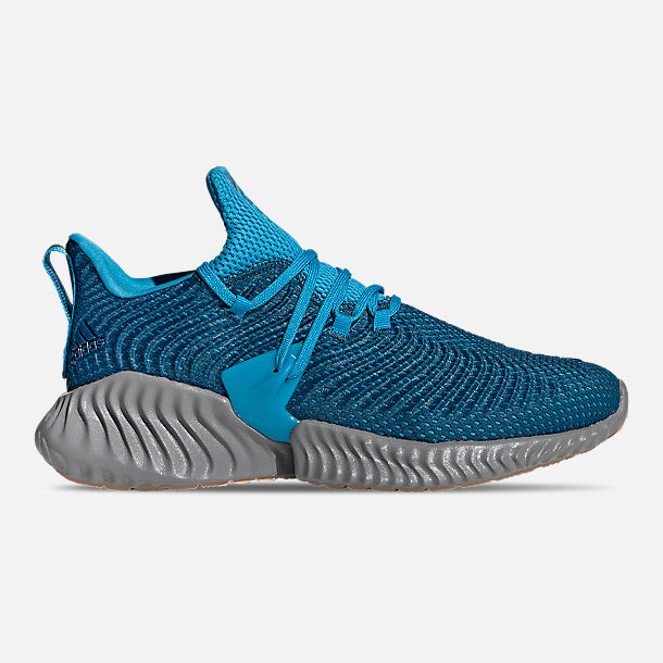ce2cbeae111ed Right view of Men s adidas AlphaBounce Instinct Running Shoes in Legend  Marine Legend Marine