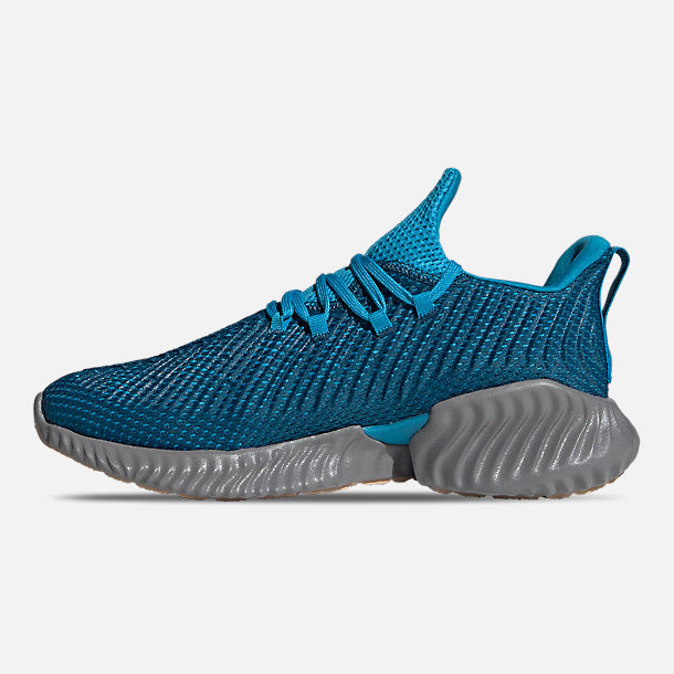 27ae3345202fb Left view of Men s adidas AlphaBounce Instinct Running Shoes in Legend  Marine Legend Marine