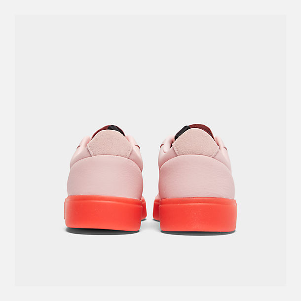 Left view of Women's adidas Originals Sleek Casual Shoes in Diva/Diva/Red