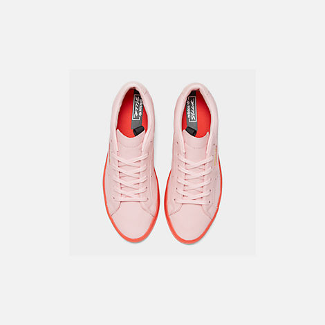 Back view of Women's adidas Originals Sleek Casual Shoes in Diva/Diva/Red