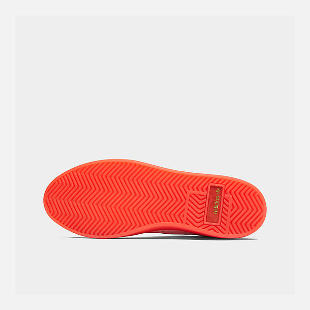 Bottom view of Women's adidas Originals Sleek Casual Shoes in Diva/Diva/Red
