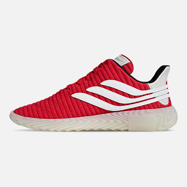 info for 45558 e5ab0 Left view of Men s adidas Sobakov Casual Shoes in Scarlet Footwear  White Core Black