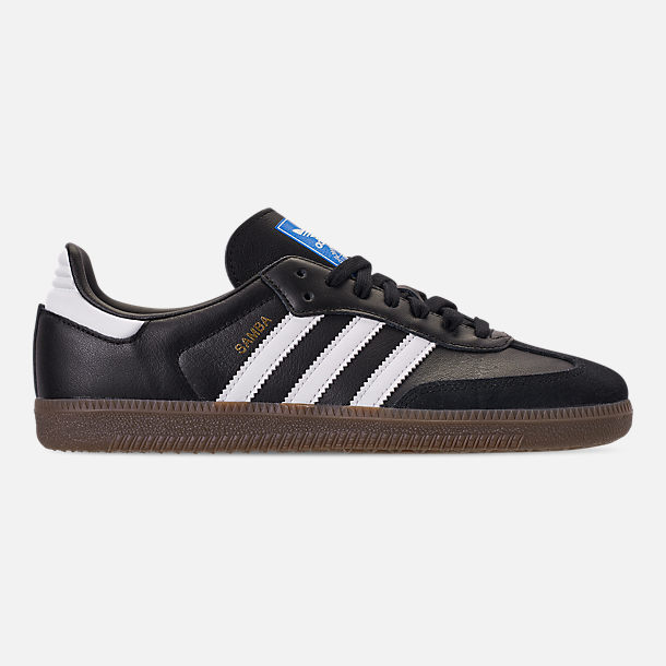 official photos 1b704 b33c3 Right view of Womens adidas Originals Samba OG Casual Shoes in BlackWhite Gum