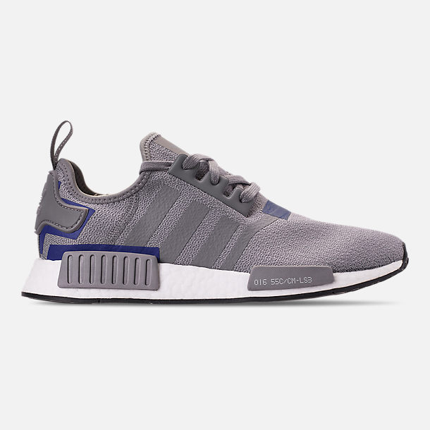Right view of Men's adidas NMD Runner R1 Casual Shoes in Grey Three