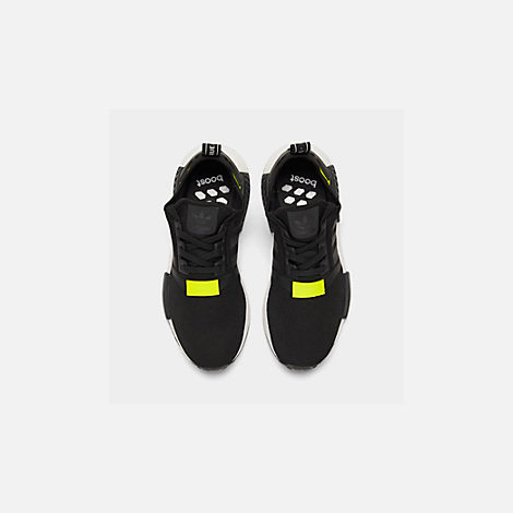 Back view of Men's adidas NMD Runner R1 Casual Shoes in Core Black/Footwear White