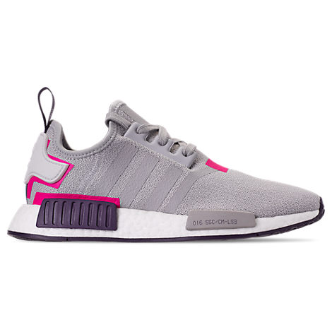 7c0a3b310dfa Adidas Originals Women S Nmd R1 Knit Lace Up Sneakers In Grey