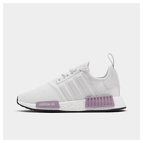 Adidas Originals Women S Nmd R1 Knit Athletic Sneakers In White ... a306afa87