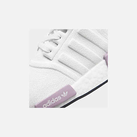 5bc8178cd Front view of Women s adidas NMD R1 Casual Shoes in Crystal White Crystal  White