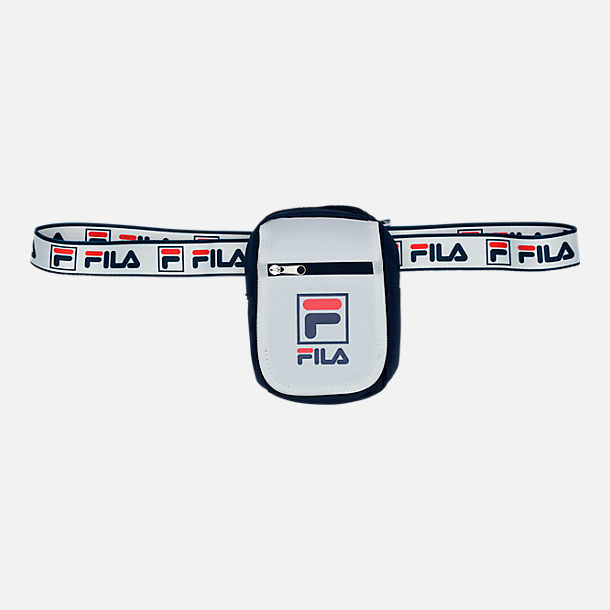 Front view of Fila Belt Pouch in White